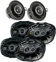 Kicker Dodge Ram Crew Cab 2012 & up speaker bundle- 2 pairs of CS 6x9