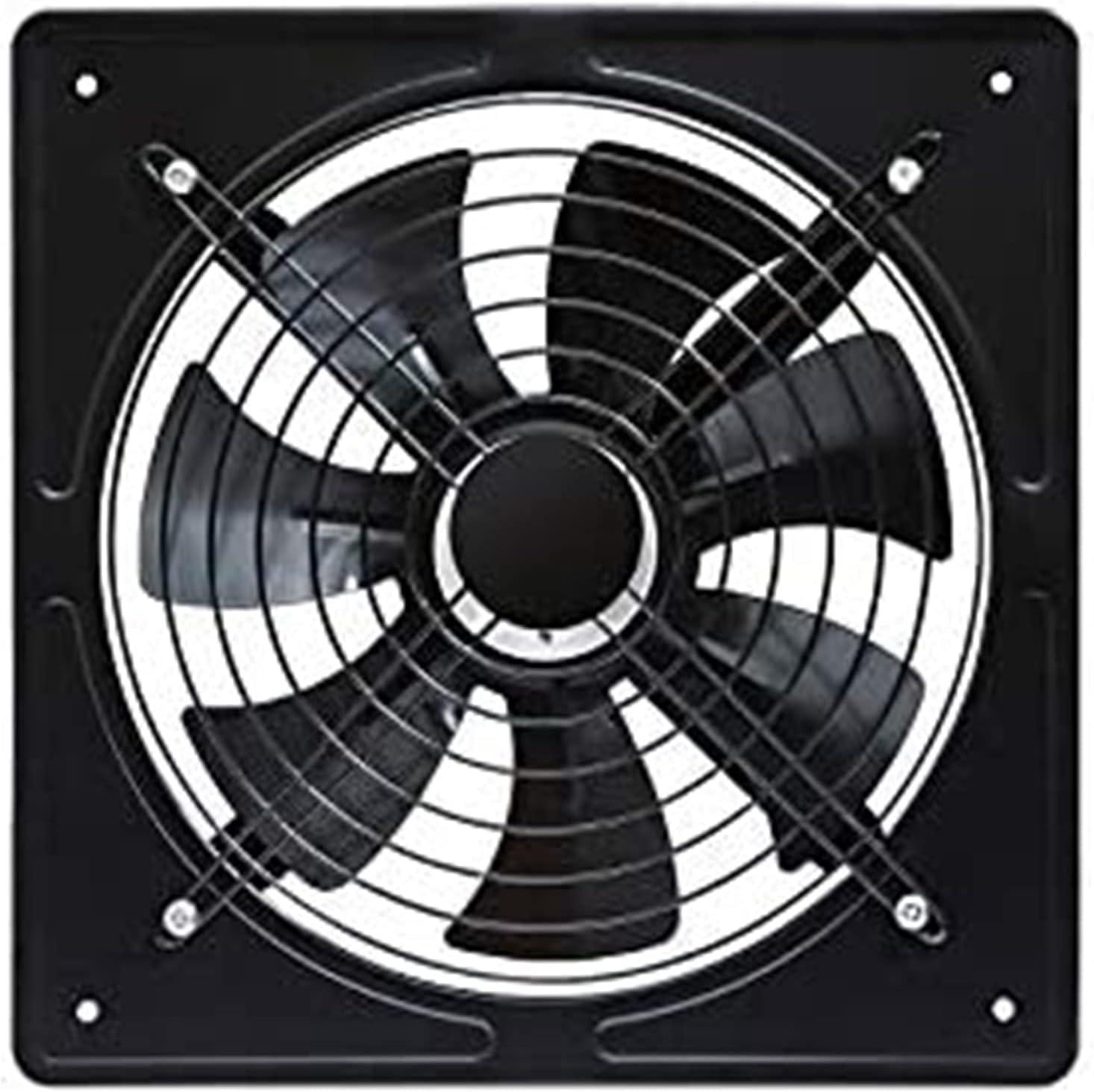 LITING Ventilador de ventilación doméstico Potente Y Energía Eólica Avión De Escape Industrial De 12 Pulgadas Ventilador De Ventilación Doméstica