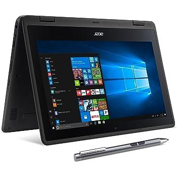 "Acer SP111-31N-C4UG Spin 1, 11.6"" Full HD Touch, 2 in 1 Laptop, Celeron N3350, 4GB DDR3L, 32GB Storage, Office 365, Stylus, Obsidian Black"