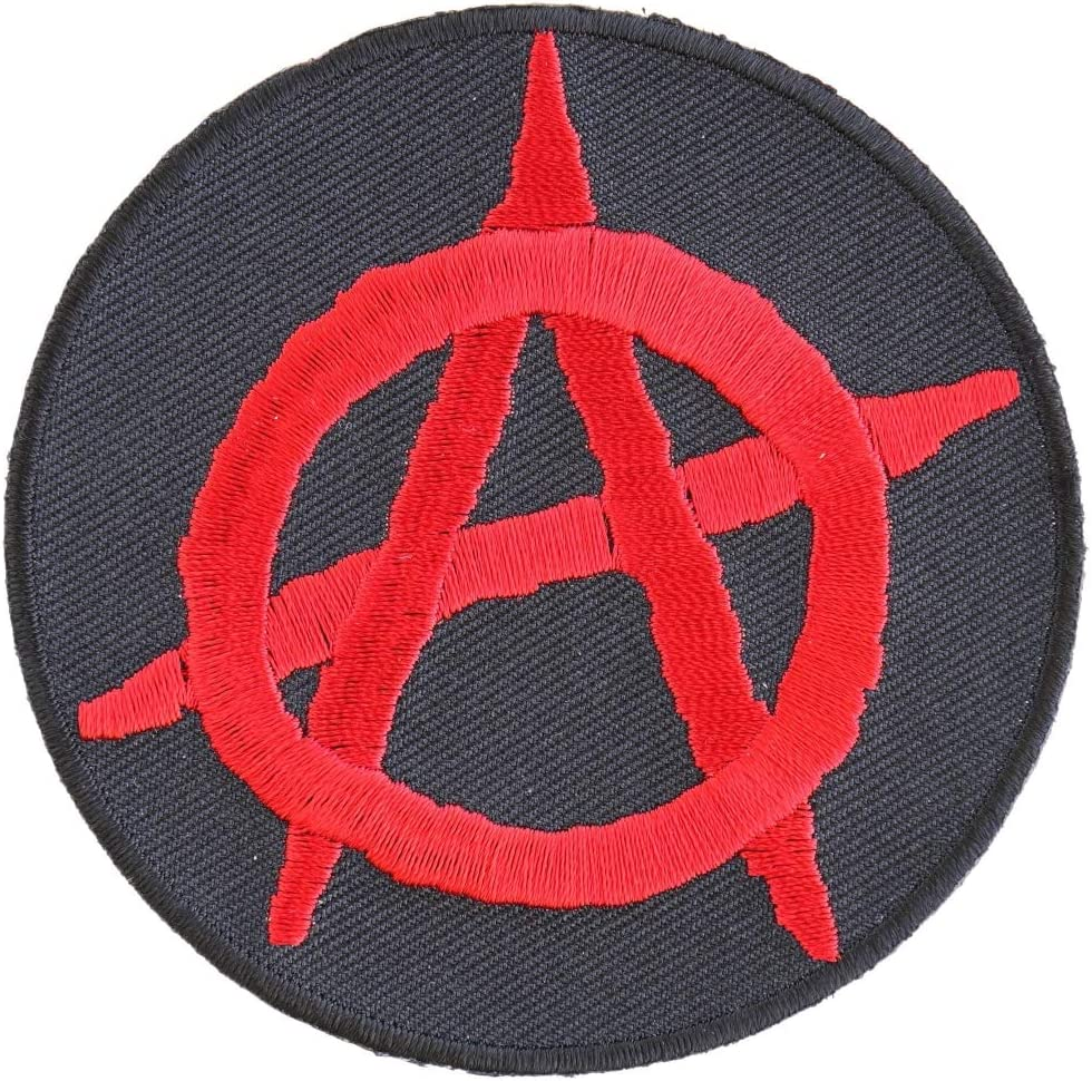 Soldering Anarchy Red Round Patch 3 - Ranking TOP15 inch