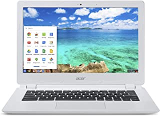 "Acer Chromebook CB5-311-T677 - 13.3"" Full HD Display, NVIDIA Tegra K1 2.1GHz, 4GB RAM, 32GB SSD - White (Renewed)"