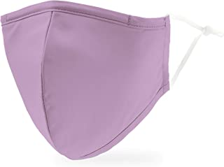 Weddingstar 3-Ply Adult Washable Cloth Face Mask Reusable and Adjustable with Filter Pocket - Lavender Purple