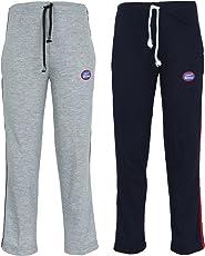 VIMAL JONNEY Multicolor Cotton Blended Trackpants for Girls(Pack of 2)-K1MLNG-K2NAVY_002-P