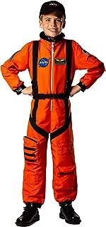 Kids Astronaut Flight Suit Commander Child Boys & Girls Costume