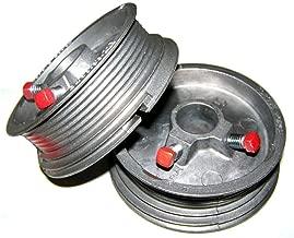 Garage Door Cable Drums Up To 8' High Doors 400-8 (Pair)