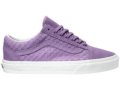 Vans Old Skooltm ((Emboss Mini Check) Nirvana/True White) Skate Shoes