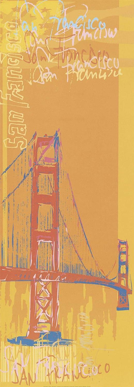 Poster Kunstdruck 50x70 cm Andres Architektur Gebäude T8NF