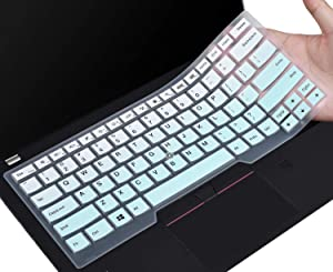 Keyboard Skin Compatible with 2019/2018 Lenovo ThinkPad X1 Carbon 14