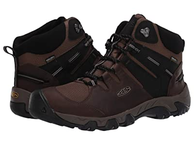 KEEN Steens Mid Waterproof (Canteen/Black) Men
