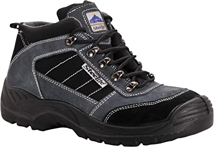Portwest FW63BKR40 Steelite Trekker Boot, S1P, Regular, Size: 40/7, Black
