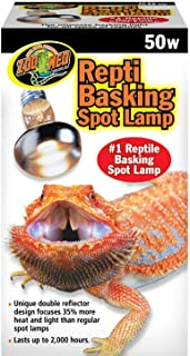 Zoo Med Repti Basking Spot Lamp Replacement Bulb 50 Watts - Pack of 3