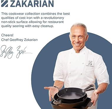 Geoffrey Zakarian Cast Iron Dutch Oven with Loop Handles, 6 Quart