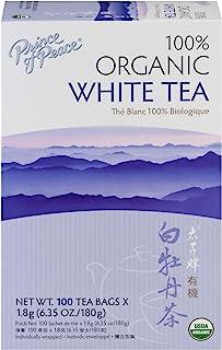 Prince of Peace Organic White Tea 100 tea bags (Pack of 4)