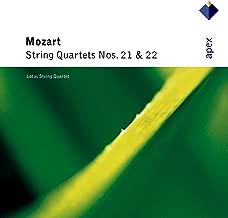 Mozart : String Quartets Nos 21 & 22 - Apex