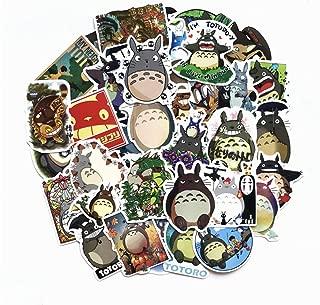 Totoro Sticker Sheet 50-Piece Multicolor Totoro Vinyl Stickers (50pcs)