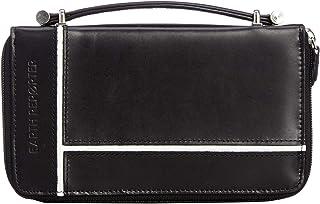 【一流の牛革を使用】レザーセカンドバッグ ウォレットバッグ メンズ 財布機能付き
