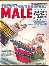 Male 8/1968-Atlas-Pussycat-Bill Ward-Emmett Kaye bikini girls-whips-cheesecake-FN-
