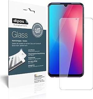 dipos I 2x skärmskydd kompatibel med Vivo Z3 flexibelt glas 9H displayskydd