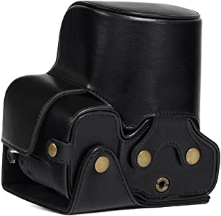 MegaGear Ever Ready Leather Camera Case Compatible with Sony Cyber-Shot DSC-RX10 IV, DSC-RX10 III