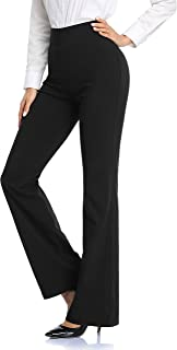 Tapata Stretch Woven Women's 30''/32''/34'' Bootcut Dress Pants for Office Work