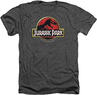 Popfunk Jurassic Park Logo Adult T Shirt & Exclusive Stickers