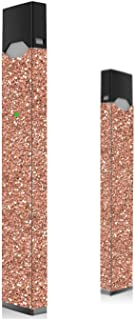Rose Gold Glitter Skin for Vape | Wrap | Decal | Sticker | Cover | Case