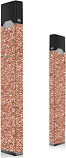 Rose Gold Glitter Skin for Juul | Wrap | Decal | Sticker | Cover | Case