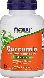 Now Foods Curcumin - 120 Veg Capsules