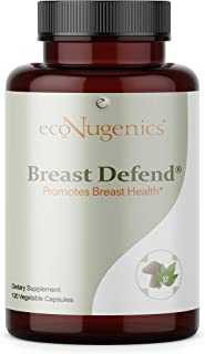 EcoNugenics - BreastDefend - 120 Capsules - DIM Supplement for Breast Health, Estrogen Hormone Balance & Immune Support - ...