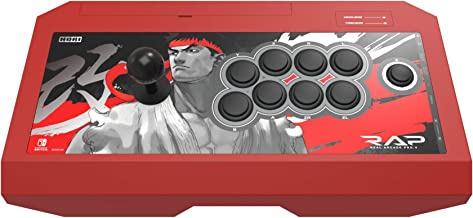HORI Nintendo Switch Real Arcade Pro - Street Fighter™ Edition (Ryu) Officially Licensed by Nintendo & Capcom