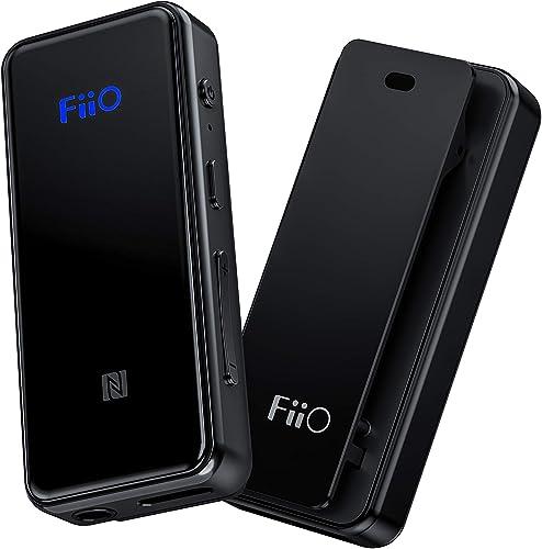 FiiO BTR3 HiFi Bluetooth Receiver with aptX/aptXHD/aptXLL/LDAC/AAC Support, Portable Mini Music Audio Receiver for Ho...