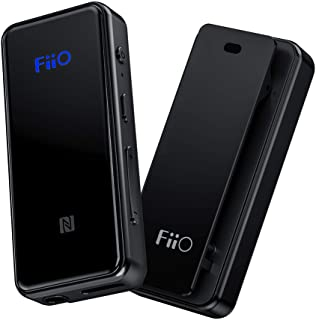 FiiO BTR3 HiFi Bluetooth Receiver&USB DAC | aptX/aptX HD/aptX LL/LDAC/AAC/HWA Support, for Home TV,Speaker,Car Stereo, NFC Pairing, Type C Port and 3.5mm Out, AK4376A 192K/24B DAC chip