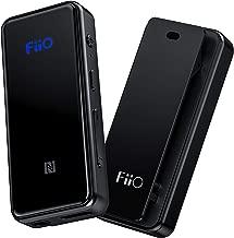 FiiO BTR3 HiFi Bluetooth Receiver&USB DAC   aptX/aptX HD/aptX LL/LDAC/AAC/HWA Support, for Home TV,Speaker,Car Stereo, NFC Pairing, Type C Port and 3.5mm Out, AK4376A 192K/24B DAC chip