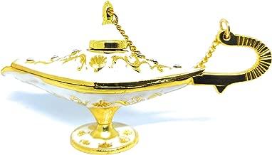 Outgeek Genie Lamp Decorative God Vintage Legend Aladdin Lamp Aladdin Costume Accessory