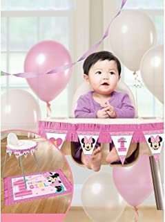 Disney Minnie Fun to Be One High Chair Decorating Kit
