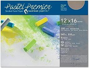 Speedball Sanded Pastel Paper, 511046, Paper, Italian Clay, 12 x 16