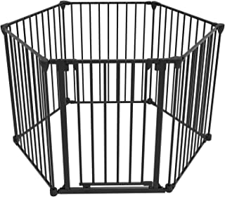 """Perma Child Safety Outdoor Retractable Baby Gate Gray Wide Selection; Extra Wide Up To 71"""""""