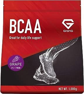 グロング BCAA アミノ酸 グレープ風味 1kg (100食分) 含有率84% 国産
