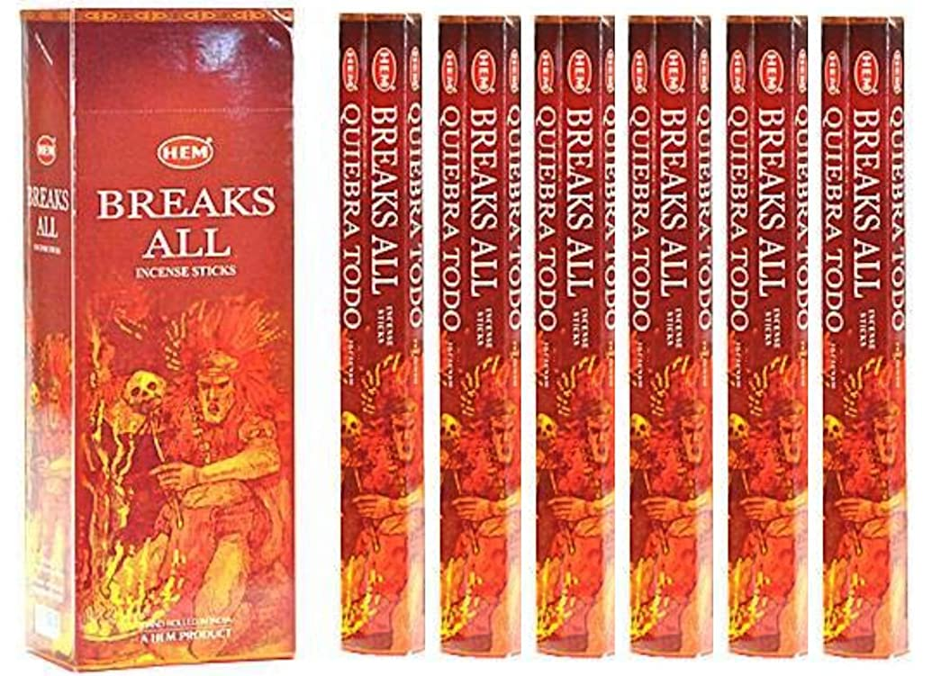 礼拝肉屋オーディションHEM(ヘム)社 ブレイクスオール香 スティック BREAKS ALL 6箱セット
