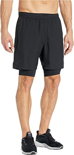 "7"" 2-in-1 Compression Shorts"