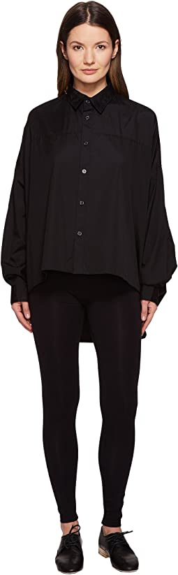 Double Big Button Up Long Sleeve Woven