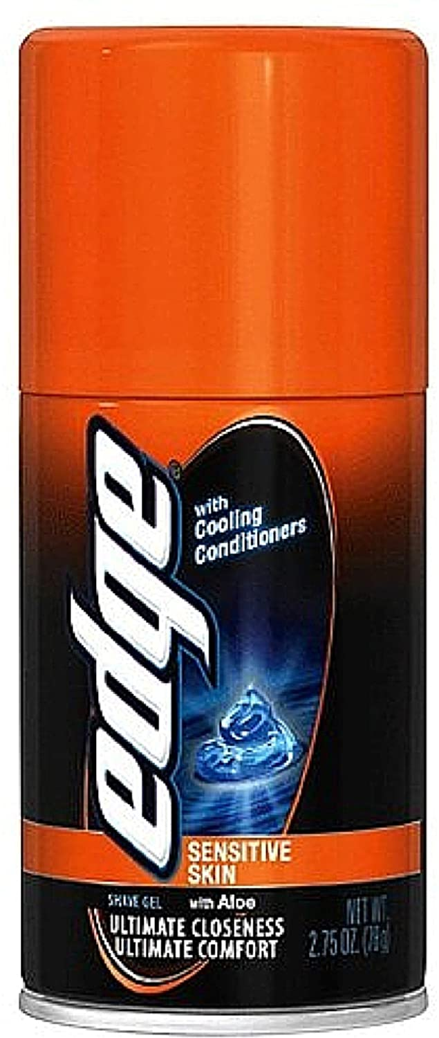 Edge Shave Gel Sensitive Popular brand Skin with 2.75 of oz Pack 11 Ranking TOP8 Aloe