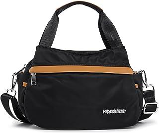 Top Handle Bag Small Nylon Handbags for Women Messenger Tote Crossbody Shoulder Bags Travel Purse