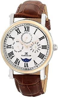 Thomas Earnshaw Men's ES-8031-03 Maskelyne Analog Display Japanese Quartz Brown Watch