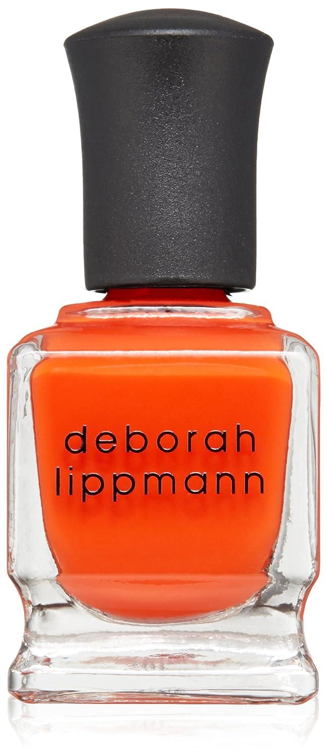 望むエイズ銅[Deborah Lippmann] デボラリップマン DON'T STOP BELIEVIN' ドント ストップ ビリービン 色:レッドオレンジ ネイルカラー系統:赤 15mL