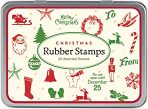 rubber stamps christmas