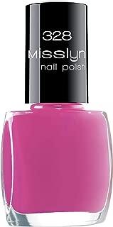 Misslyn Nail Polish - 10 ml, 328 Naughty Pink