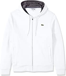 Lacoste Mens Sport Long Sleeve Fleece Full Zip Hoodie Sweatshirt