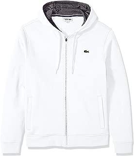 Mens Sport Fleece Zip Up Hooded Sweatshirt