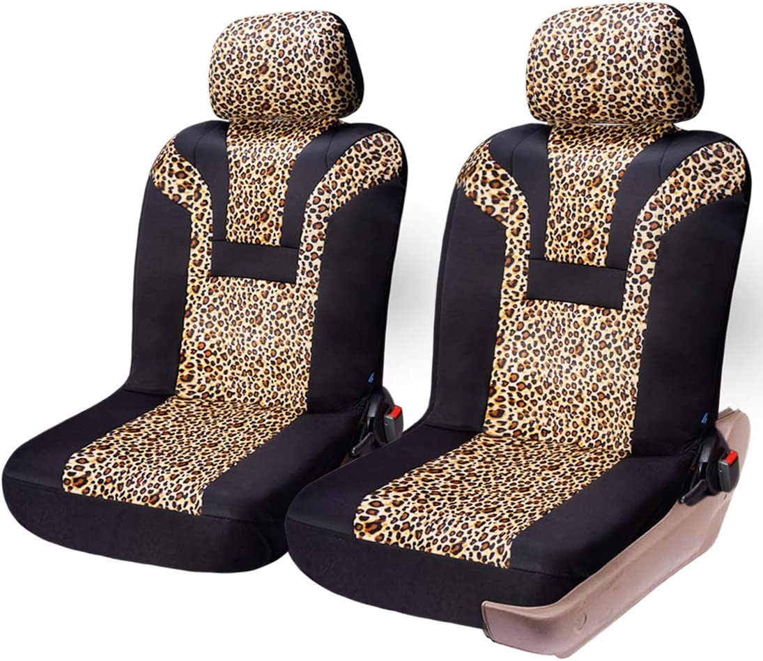 COOLBEBE Leopard Car Seat OFFicial shop Covers - Pattern Au Popular products Integrated Cheetah